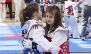 Gest solidari del Taekwondo Club Andorra.