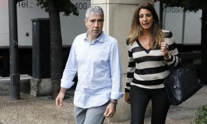 Joan Pau Miquel declara per la querella contra els policies espanyols