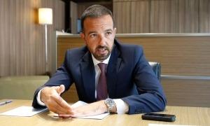 El ministre d'Ordenament Territorial, Jordi Torres.