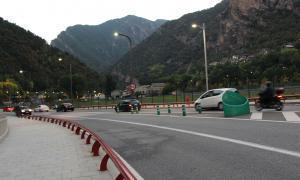 El motorista ferit aquest dijous està ingressat a l'UCI de Sant Pau de Barcelona
