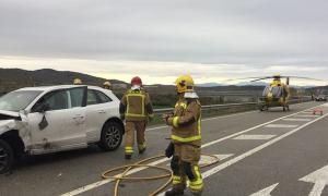 L'accident va tenir lloc a la C-14, a la comarca de la Segarra.