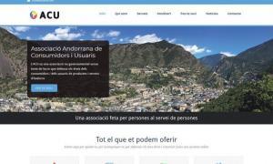 Imatge de la web de l'ACU.