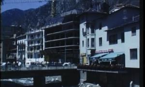Primers anys 80: la Rotonda, amb l'edifici Andimesa en construcció.