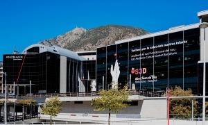 La seu del Grup Andbank situada a Escaldes-Engordany.