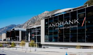 L'edifici d'Andbank.