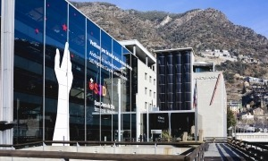 La seu central de l'entitat financera, a Escaldes.