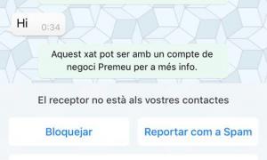 ANA/ Captura de pantalla del missatge fraudulent.