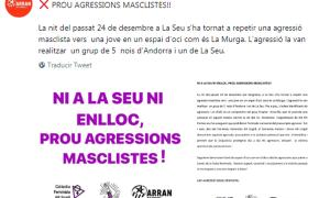 Arran Alt Urgell ha denunciat l'agressió.