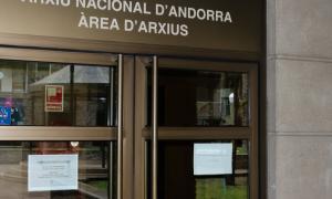 ANA/ L'entrada de l'Arxiu Nacional.