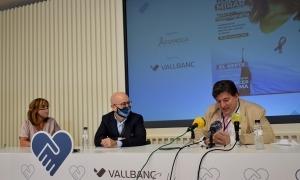 Pons, Martín i Saravia, durant la roda de premsa d'aquest matí.