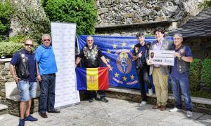 L'associació de motoristes Ángeles Guardianes fa donació de 2.455 euros a ASSANDCA L'associació de motoristes Ángeles Guardianes fa donació de 2.455 euros a ASSANDCA