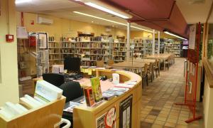 La biblioteca comunal d'Encamp.