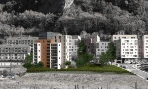 El projecte d'habitatges a preu assequible a Borda Nova.