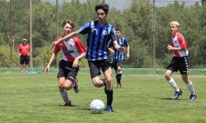 El Marcelo durant un partit de futbol.