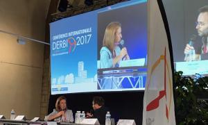 Calvó inaugura la conferència internacional del DERBI d'energies renovables a Perpinyà