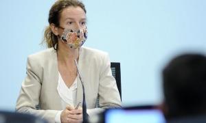 La ministra de Medi Ambient, Agricultura i Sostenibilitat, Sílvia Calvó.