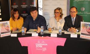 La presentació de la recaptació de la sisena Caminada contra el càncer