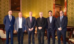 Càritas d'Urgell signa amb CaixaBank un conveni que dota els centres de l'ONG amb 25.000 euros