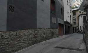 El carrer de la Llacuna.