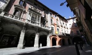 El carrer Major de la Seu.