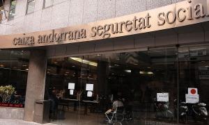 L'edifici de la Caixa Andorrana de Seguretat Social.