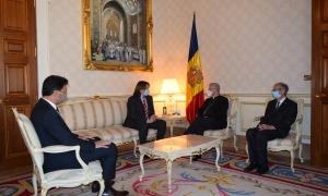 un moment de la reunió de Vives amb els consellers de Ciutadans Compromesos.