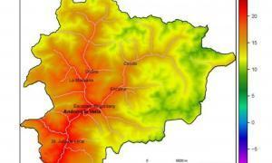 Temperatures dos graus per sobre de la mitjana i poques precipitacions a l'agost Temperatures dos graus per sobre de la mitjana i poques precipitacions a l'agost