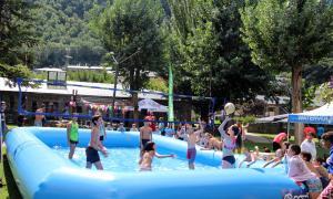 ANA/ Partit de watervòlei al Parc Central per tancar la programació d'estiu de la Central.