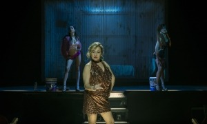 Un moment del musical 'Prostitución'