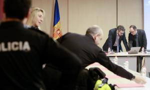 ANA/ Reunió de la comissió de seguiment del Programa d'Educació Viària.