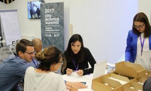 El primer City Science Summit aplega prop de 300 persones El primer City Science Summit aplega prop de 300 persones