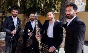 El quartet de clarinets Banús.