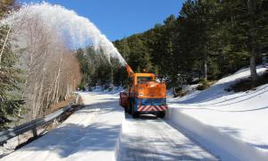 La carretera del coll d'Ordino es tancarà fins al mes de maig La carretera del coll d'Ordino es tancarà fins al mes de maig