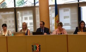 Sessió del consell del comú de la Massana.