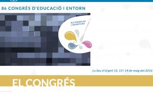 Cartell del congres sobre l'escriptura en la comunitat educativa