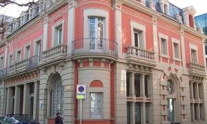 Exterior del Consell Comarcal de l'Alt Urgell, al passeig Joan Brudieu.