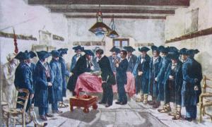 El Consell Revolucionari Provisional sorgit del cop de desembre de 1881, i que no va cedir el poder fins al Tractat del pont dels Escalls, el juny següent; el segle XIX és segons Villaró un dels buits més clamorosos en la nostra historiografia.