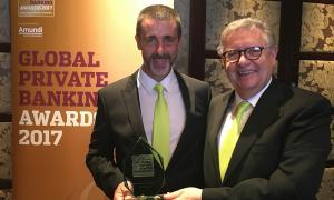 Crèdit Andorrà, reconeguda com a millor entitat d'Andorra en banca privada 2017 Crèdit Andorrà, reconeguda com a millor entitat d'Andorra en banca privada 2017