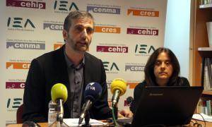 ANA/ El director i la investigadora del CRES, Joan Micó i Pepa Batalla