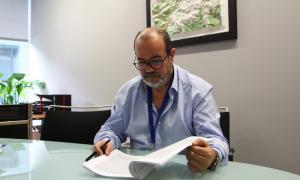 ANA/ Joan Crespo, director de l'Agència de Protecció de Dades
