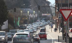 Més de 100.000 vehicles han entrat al país en els darrers set dies Més de 100.000 vehicles han entrat al país en els darrers set dies