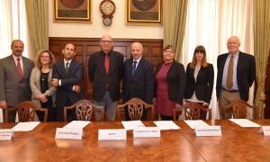La signatura de l'acord de col·laboració es va fer a Malta.