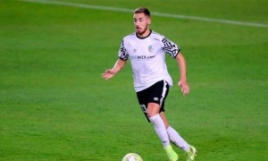Sergio Molina del Salamanca a l'FC Andorra. Foto: Morgan