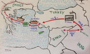 Cròniques refugiades  #opentheborders. Dia 4. 'My friend'