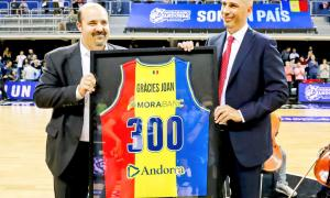 Joan Peñarroya torna al Poliesportiu de rival i s'emporta la victòria