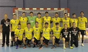 La selecció d'Andorra va perdre a l'estrena a Tbilisi. Foto: FAH