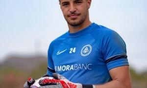 Alejandro Gutiérrez acompanyarà a Nico Ratti i 'Josele' Martínez, a la porteria de l'FC Andorra. Foto: FC Andorra