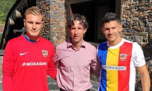 El FC Andorra fitxa al porter Miguel Bañuz i el lateral Miguel Loureiro
