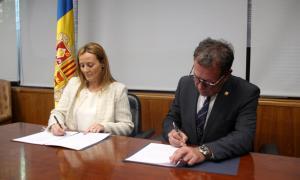 Renoven el contracte de col·laboració entre l'ENA i Sant Julià   Renoven el contracte de col·laboració entre l'ENA i Sant Julià