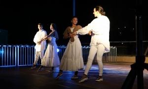Una actuació de l'Esbart de les Valls del Nord.